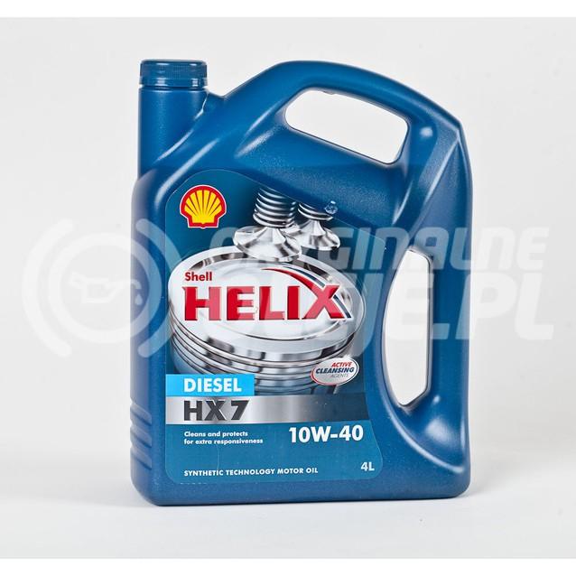 SHELL HELIX DIESEL HX-7 10W-40 4L