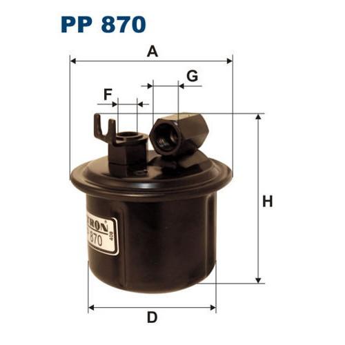 FILTR PALIWA FILTRON PP 870