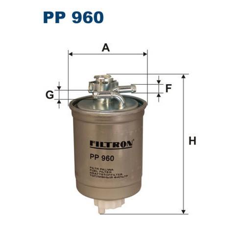 FILTR PALIWA FILTRON PP 960