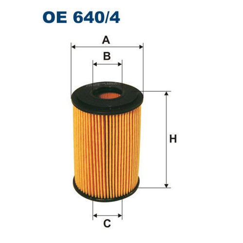 FILTR OLEJU FILTRON OE 640/4