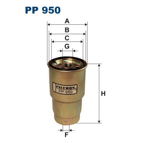FILTR PALIWA FILTRON PP 950