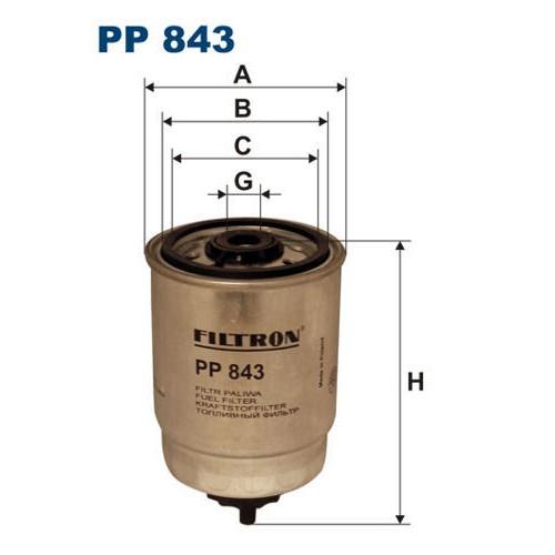 FILTR PALIWA FILTRON PP 843