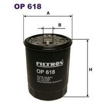 FILTRON filtr oleju OP 618
