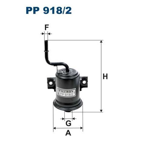 FILTR PALIWA FILTRON PP 918/2
