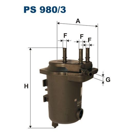 FILTR PALIWA FILTRON PS 980/3