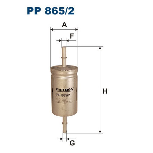 FILTR PALIWA FILTRON PP 865/2