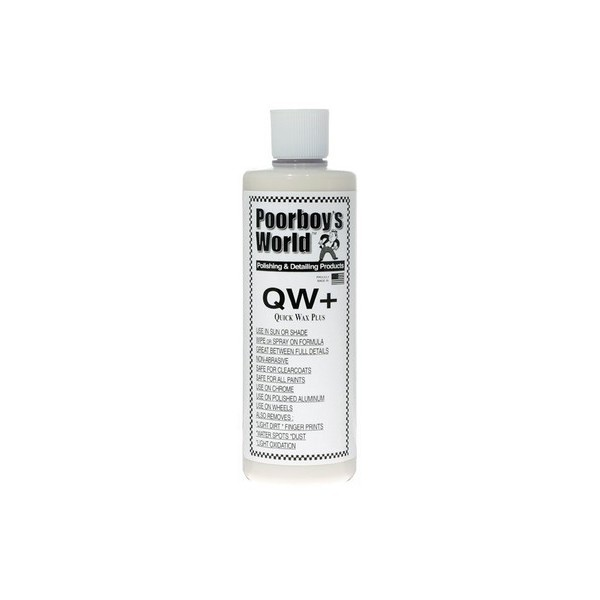 POORBOY'S WORLD Quick Wax Plus QW+ 473ml