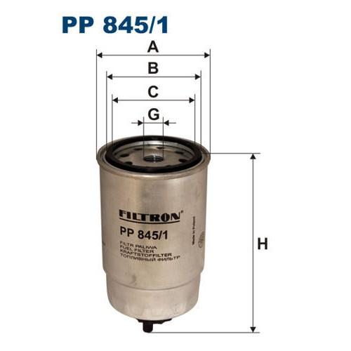 FILTR PALIWA FILTRON PP 845/1