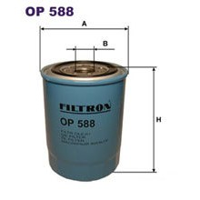 FILTRON filtr oleju OP 588