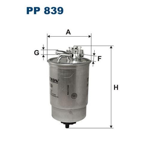 FILTR PALIWA FILTRON PP 839