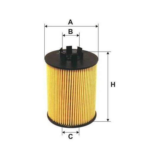FILTRON filtr oleju OE 672/2