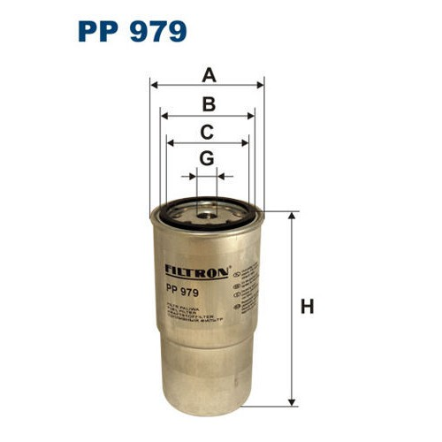 FILTR PALIWA FILTRON PP 979
