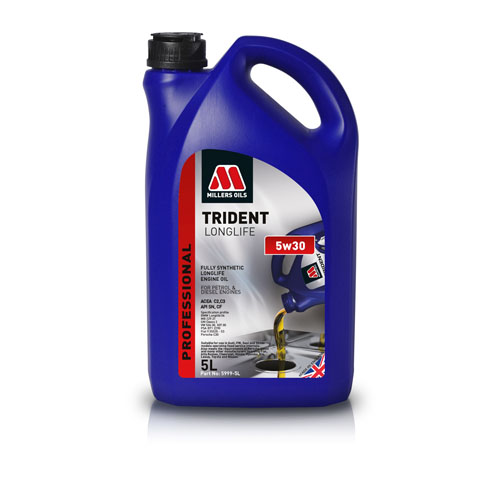MILLERS OILS TRIDENT LONGLIFE 5W-40 5L