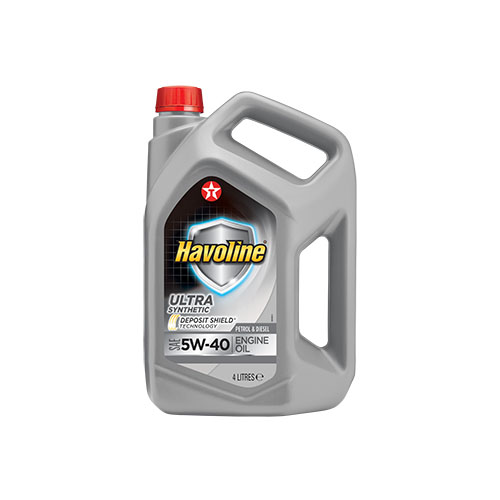 Texaco Havoline Ultra 5W-40 4L