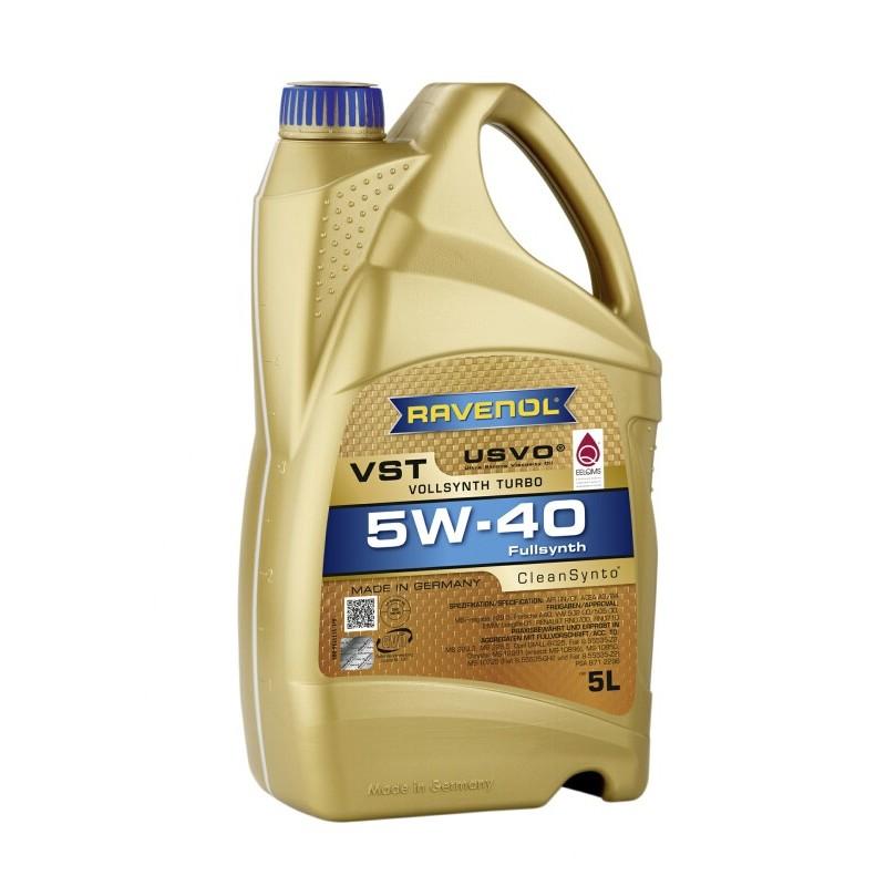 RAVENOL Turbo VST 5W-40 USVO 4+1L GRATIS PROMOCJA!