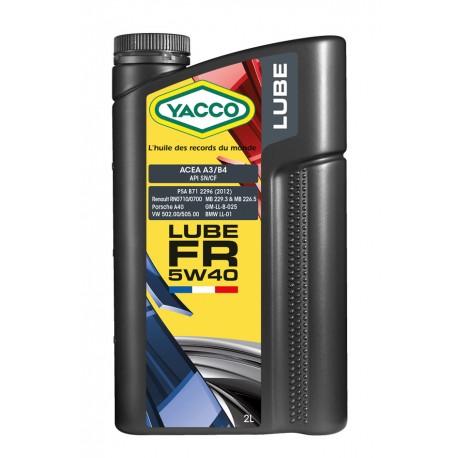 YACCO LUBE FR 5W-40 1L
