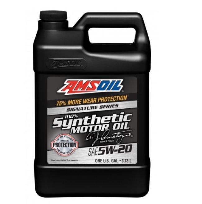 AMSOIL Signature Series 100% Synthetic 5W-20 3,8L ALM