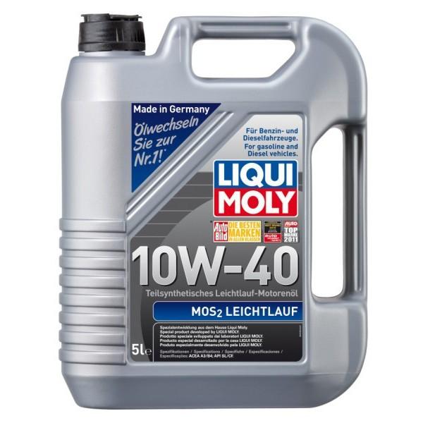 LIQUI MOLY MOS2 LEICHTLAUF 10W-40 2184 5L