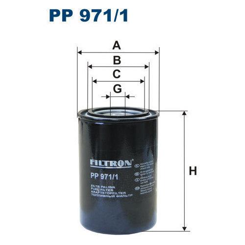 FILTR PALIWA FILTRON PP 971/1
