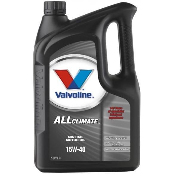 VALVOLINE ALL CLIMATE 15W-40 5L