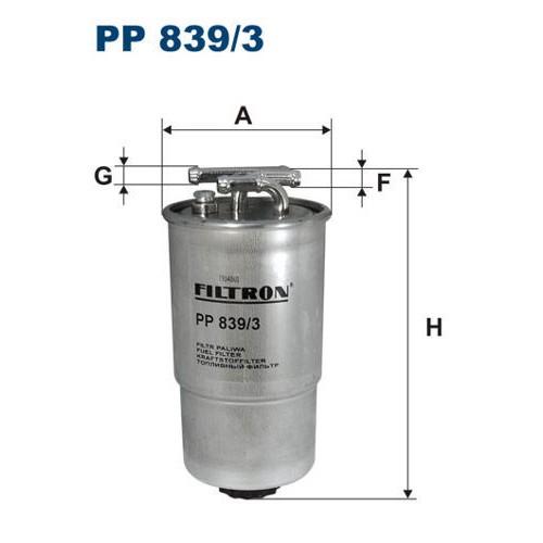 FILTR PALIWA FILTRON PP 839/3