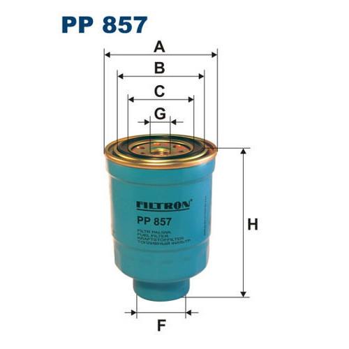 FILTR PALIWA FILTRON PP 857