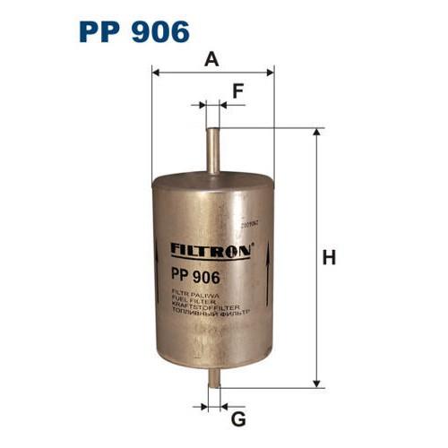 FILTR PALIWA FILTRON PP 906