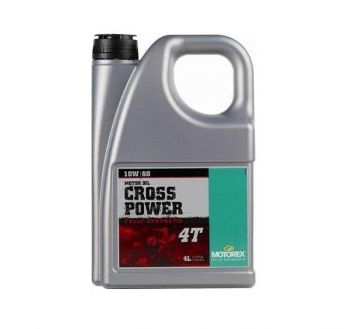 MOTOREX CROSS POWER 4T 10W-60 4L