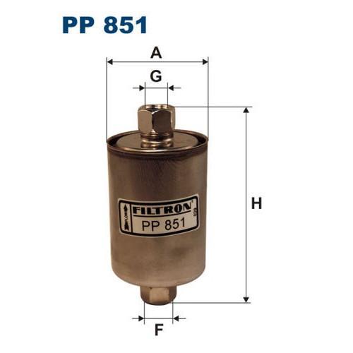 FILTR PALIWA FILTRON PP 851
