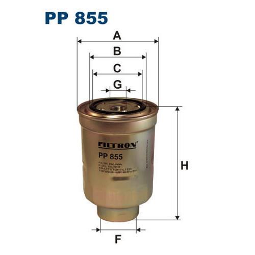 FILTR PALIWA FILTRON PP 855