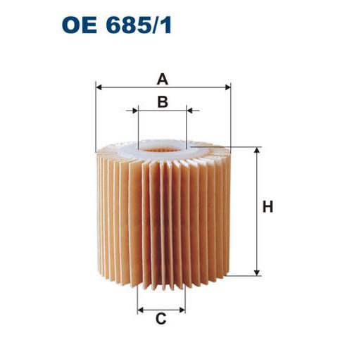 FILTRON filtr oleju OE 685/1