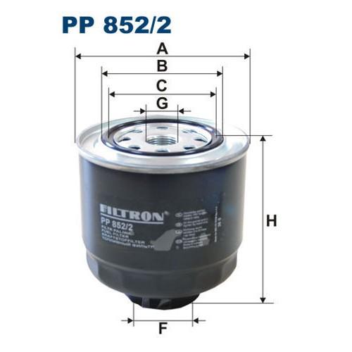 FILTR PALIWA FILTRON PP 852/2