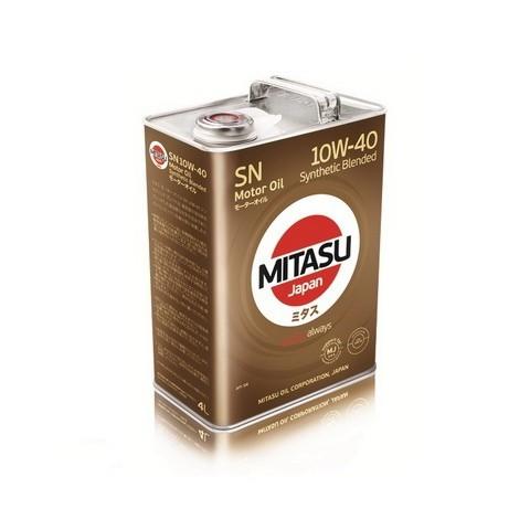 MITASU MOTOR OIL SN 10W-40 4L MJ-122A