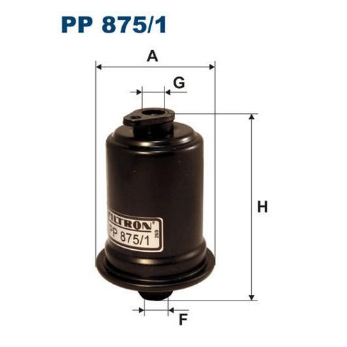 FILTR PALIWA FILTRON PP 875/1