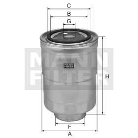 filtr paliwa MANN-FILTER WK 8052 z