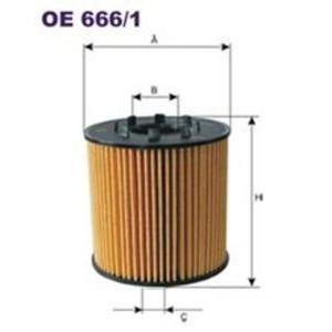 FILTRON filtr oleju OE 666/1