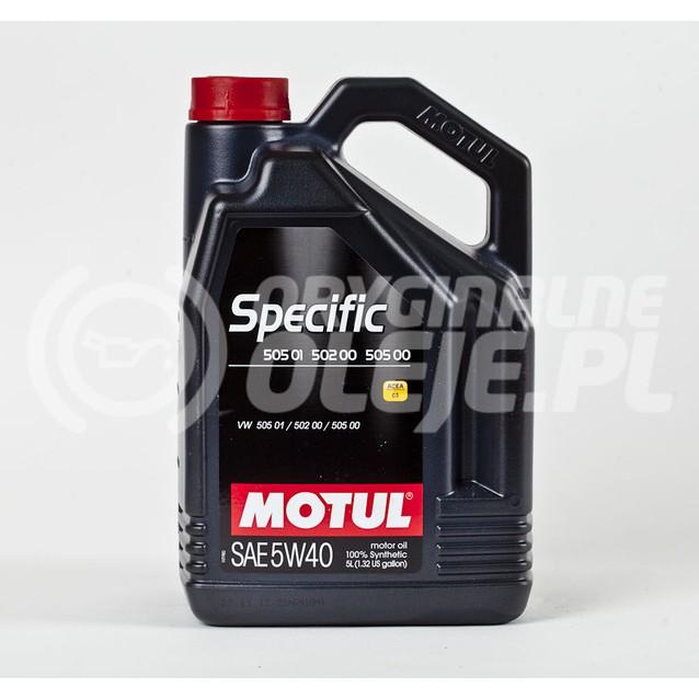 MOTUL SPECIFIC 505.01 5W-40 5L