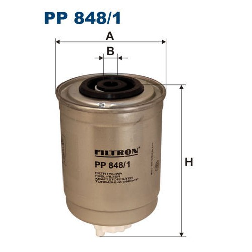 FILTR PALIWA FILTRON PP 848/1
