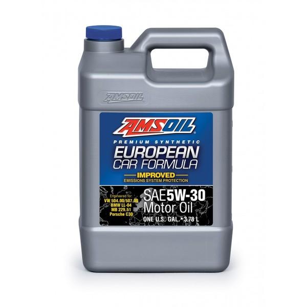 AMSOIL AEL European Car Formula 100% Synthetic 5W-30 3,78L