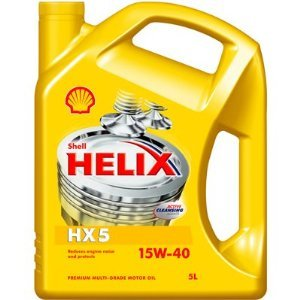 SHELL HELIX SUPER HX-5 15W-40 4L