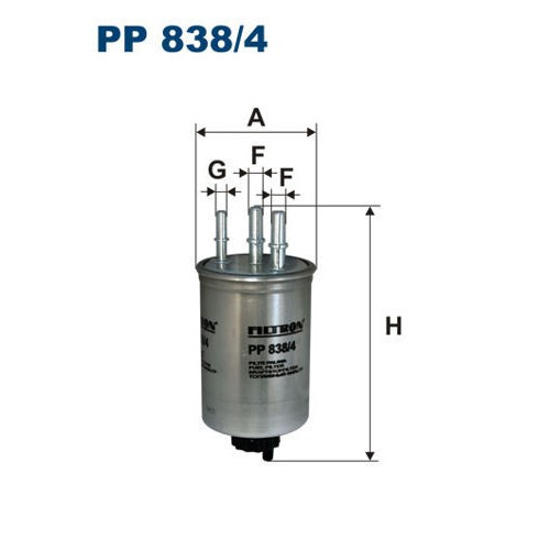 FILTR PALIWA FILTRON PP 838/4