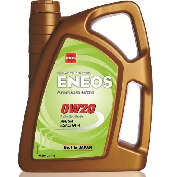 ENEOS PREMIUM ULTRA 0W-20 4L