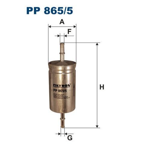 FILTR PALIWA FILTRON PP 865/5