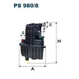 FILTR PALIWA FILTRON PS 980/8