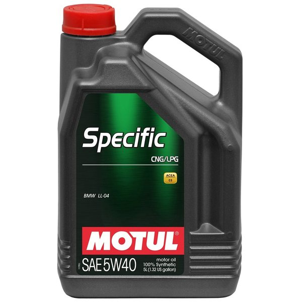 MOTUL SPECIFIC CNG/LPG 5W-40 5L