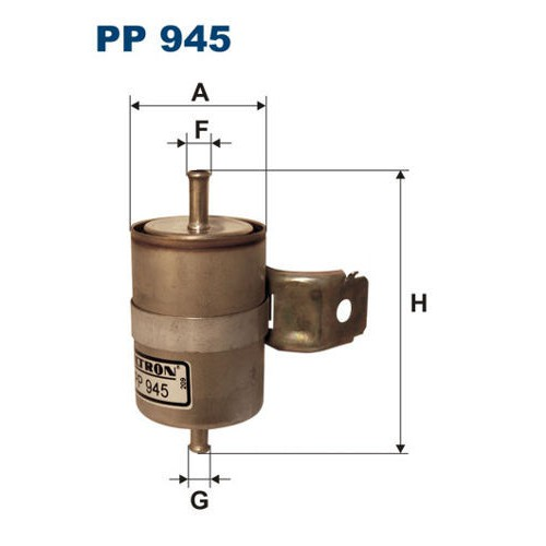 FILTR PALIWA FILTRON PP 945