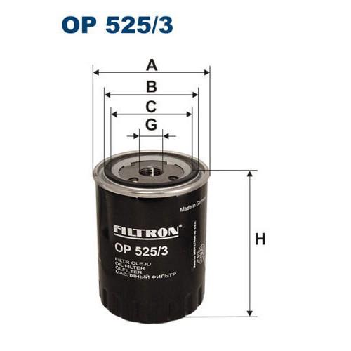 FILTRON filtr oleju OP 525
