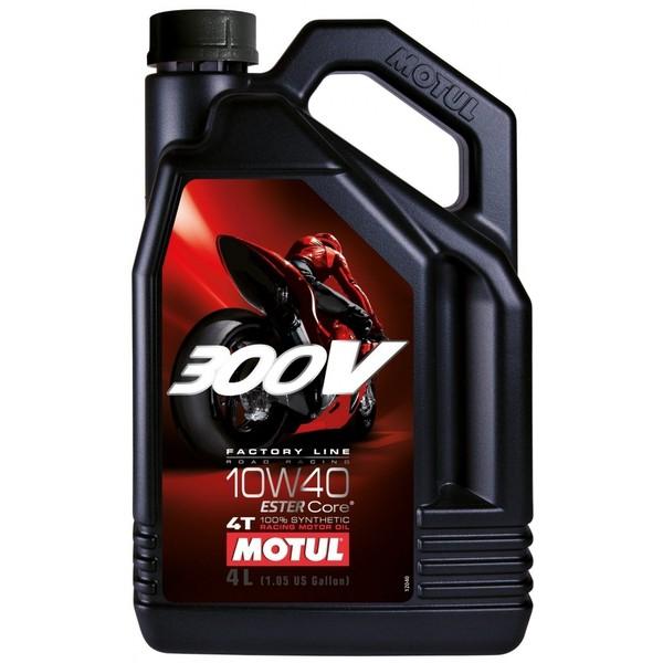 MOTUL 300V FACTORY LINE 4T 10W-40 4L