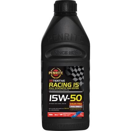 PENRITE 10 TENTHS RACING 15 15W-50 (100% PAO ESTER) 1L
