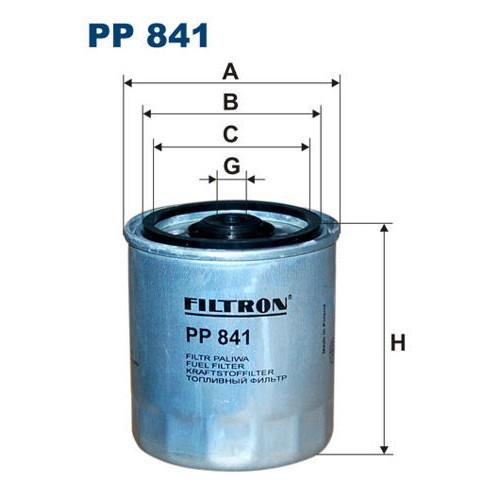 FILTR PALIWA FILTRON PP 841
